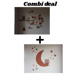 Combi deal in roest tinten